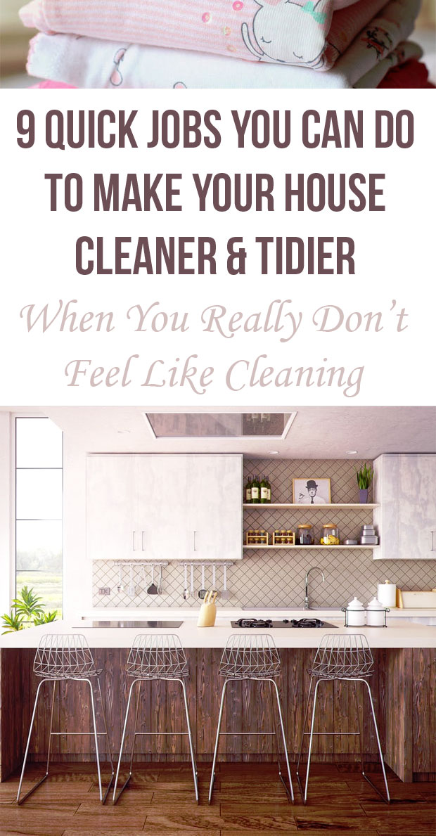 Quick Jobs You Can Do to Make Your House Cleaner & Tidier A Mum Reviews