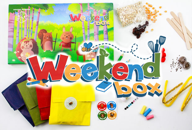 Weekend Box Review - An Activity Subscription Box for Children A Mum Reviews