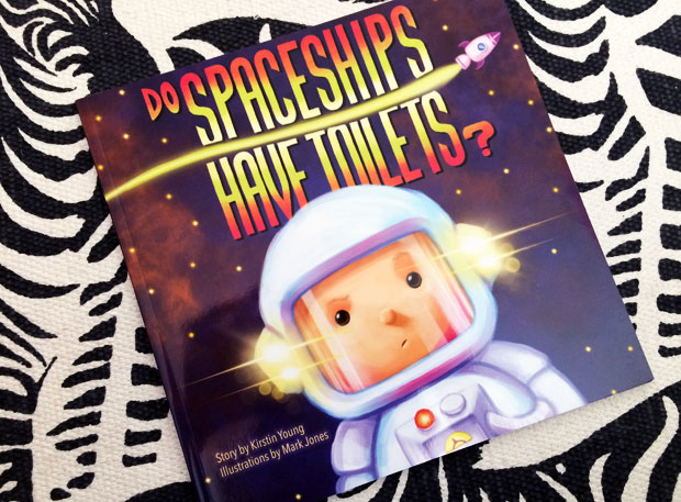 Book Review: Do Spaceships Have Toilets? by Kirstin Young A Mum Reviews