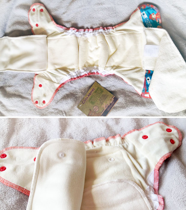 Ecopipo AIO BTP Poppers Cloth Nappy Review + Giveaway A Mum Reviews