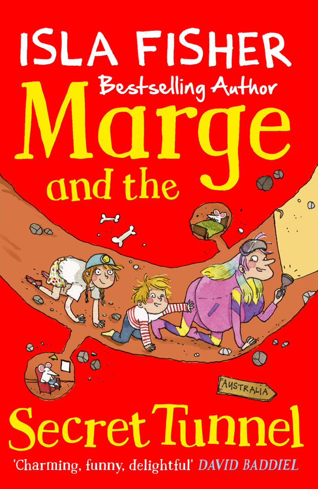 Giveaway: Win All Four Books of The Marge in Charge by Isla Fisher A Mum Reviews