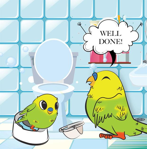 Little Budgie's Done A Fudgie - Potty Training Book A Mum Reviews