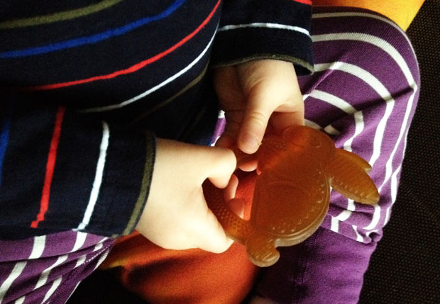 Rooba Boo the Bunny Natural Teething Toy Review + Giveaway A Mum Reviews