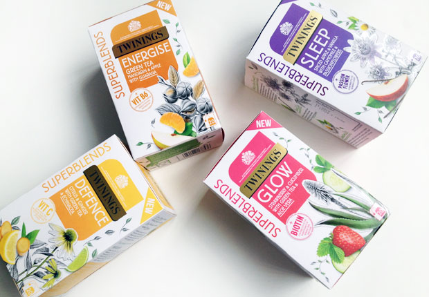 Twinings Superblends Review - A New Everyday Well-Being Tea Range A Mum Reviews