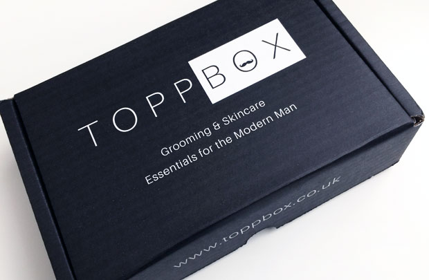 April 2018 TOPPBOX Men's Grooming & Skincare Subscription A Mum Reviews