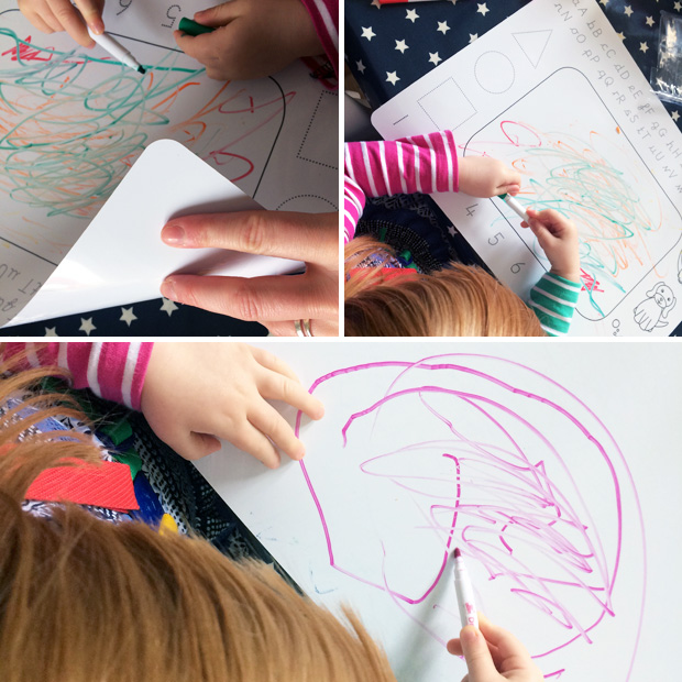 Magic Mats Review - Wipe Clean Children's Colouring Placemats A Mum Reviews