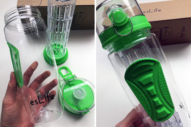 Staying Hydrated with our esLife Fruit Water Bottles A Mum Reviews