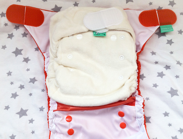 TotsBots Bamboozle Stretch and PeeNut Wrap Combination Review #ClothNappyMonday A Mum Reviews