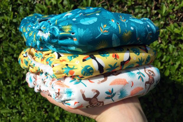 #ClothNappyMonday - Bambino Mio's New Rainforest Collection A Mum Reviews