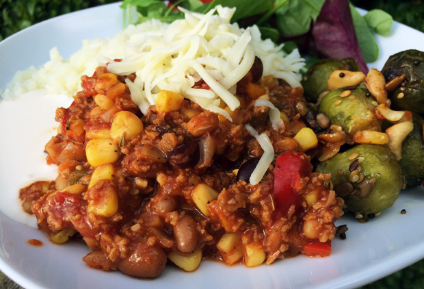 Recipe: Quick and Easy Vegetarian Chilli That's Full of Flavour A Mum Reviews