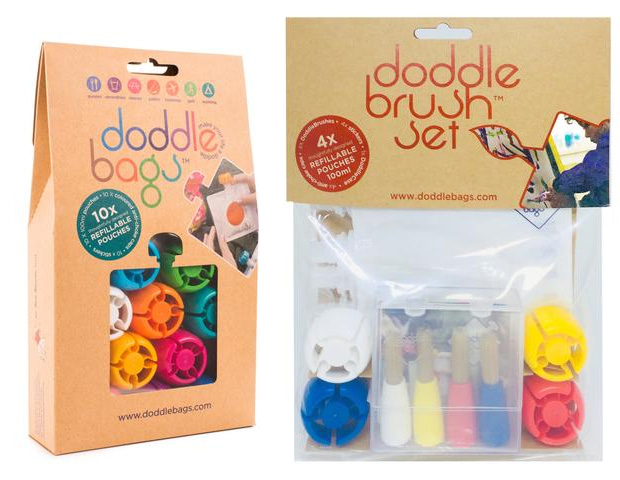 Review + Giveaway: DoddleBags Reusable Baby Pouches + Crafts Set A Mum Reviews