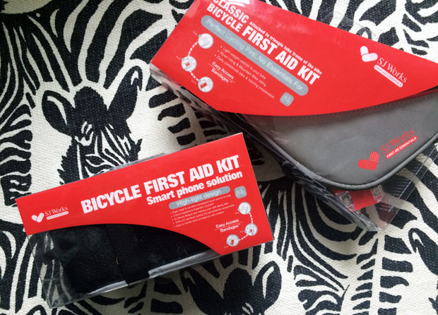 SJ Works Bicycle First Aid Kits Review & Giveaway A Mum Reviews