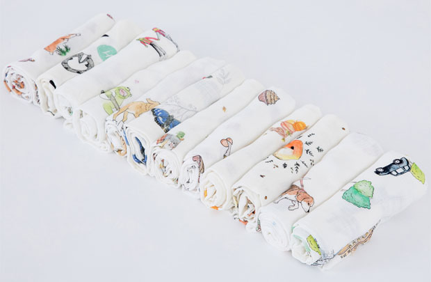 The Little Art Collection Bamboo Muslin Review A Mum Reviews