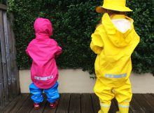 Dry Kids Rain Clothes Sets for Children Review A Mum Reviews
