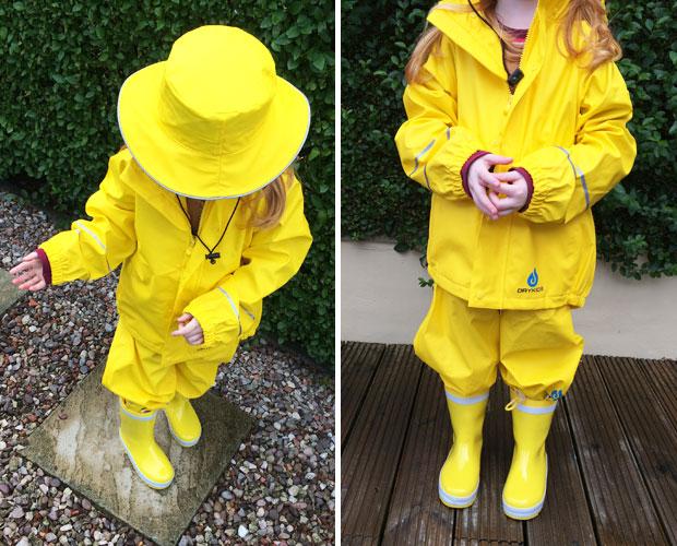 Dry Kids Rain Clothes Sets for Children Review A Mum Reviews