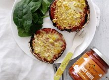 Yummy Family Recipe: Vegan Stuffed Pizza Mushrooms A Mum Reviews