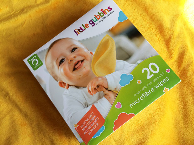 Little Gubbins Microfibre Baby Wipes Review & Giveaway A Mum Reviews