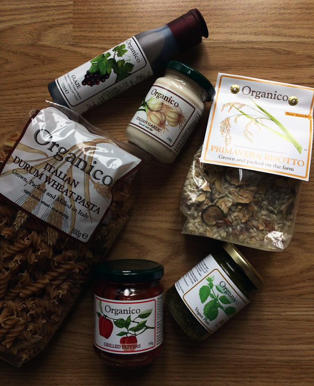 Creating Italian Meals with Organico A Mum Reviews