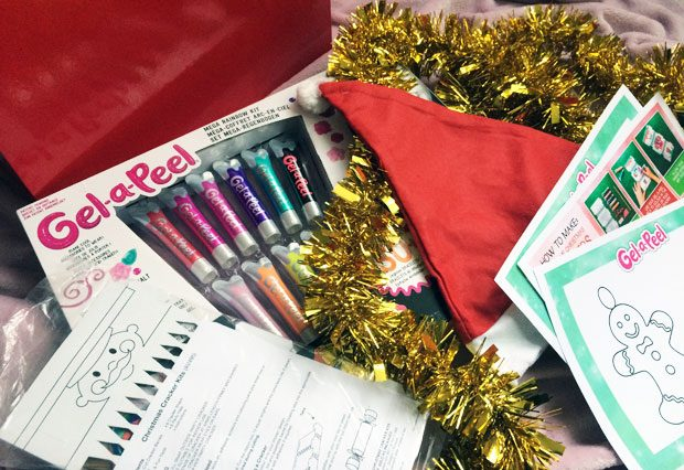 Gel-A-Peel Crafty Christmas A Mum Reviews