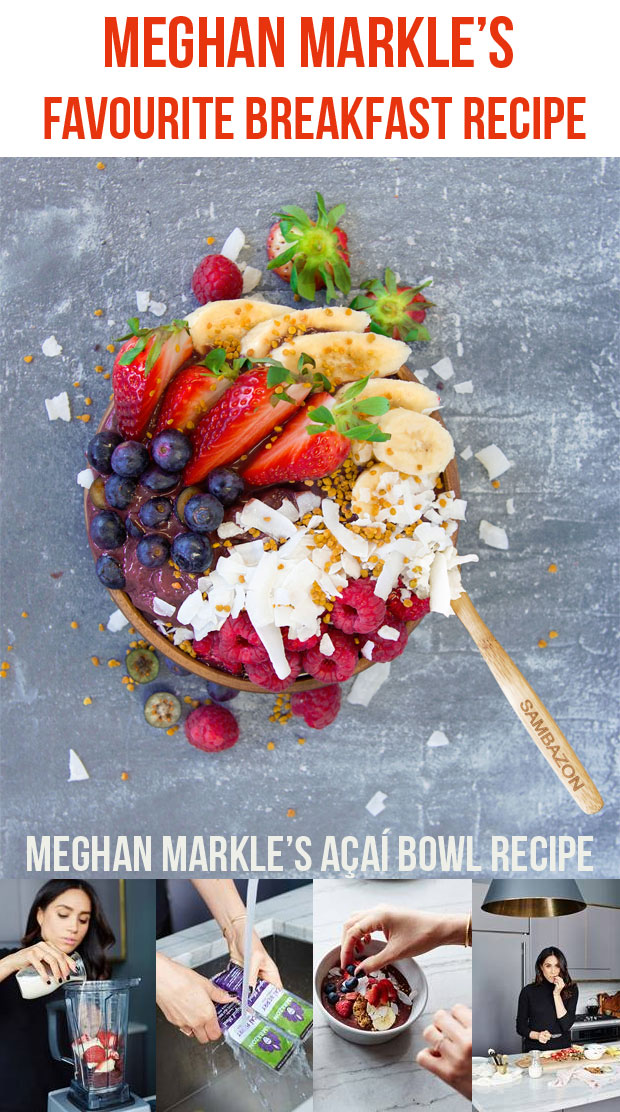 Meghan Markle's Favourite Breakfast Recipe - Açaí Bowl A Mum Reviews
