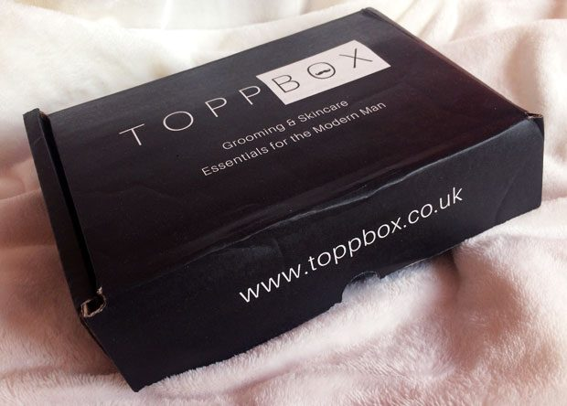 November 2018 TOPPBOX Men's Grooming & Skincare Subscription A Mum Reviews