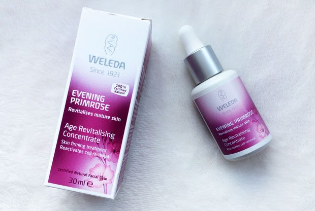 Weleda Evening Primrose Age Revitalising Concentrate Review A Mum Reviews