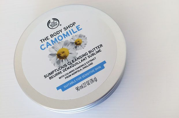 The Body Shop Camomile Sumptuous Cleansing Butter Review A Mum Reviews