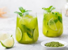 Healthy Iced Matcha Green Tea Recipe A Mum Reviews