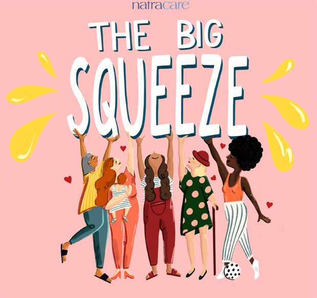 Join Natracare for the World's Biggest Squeeze this Valentine's Day! #PeepleUnite A Mum Reviews