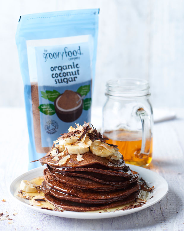 Recipe: Chocolate, Coconut and Banana Breakfast Pancakes A Mum Reviews