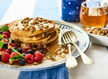 Recipe: Fluffy Pancakes with Honey Seeds and Fresh Berries A Mum Reviews
