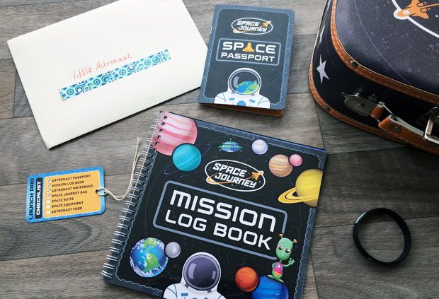 Space Journey Box Review - A Kids' Subscription Box from uOpen A Mum Reviews