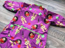 Tidy Tot Long Length Coverall Bib Review - For Toddlers and Beyond A Mum Reviews