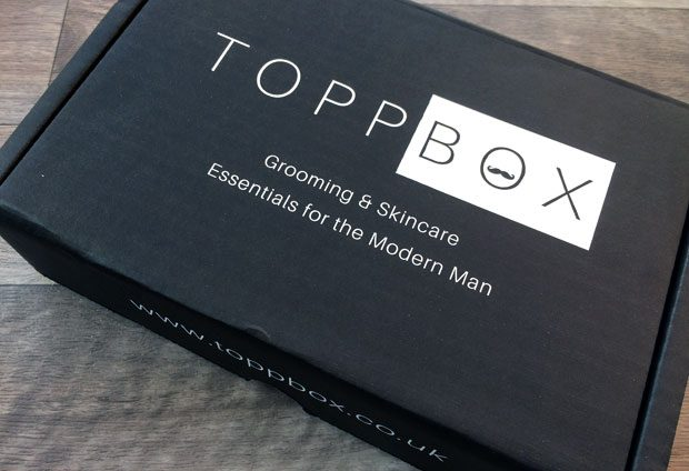 January 2019 TOPPBOX Men's Grooming & Skincare Subscription A Mum Reviews