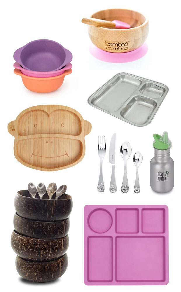 Eco-Friendly Kids' Tableware - Bamboo, Stainless Steel & Coconut A Mum Reviews