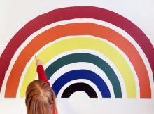 IconWallStickers.co.uk Rainbow Wall Sticker Review A Mum Reviews