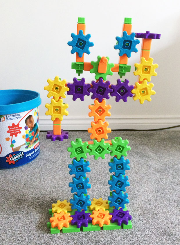 Learning Resources Gears! Gears! Gears! Super Building Set Review A Mum Reviews