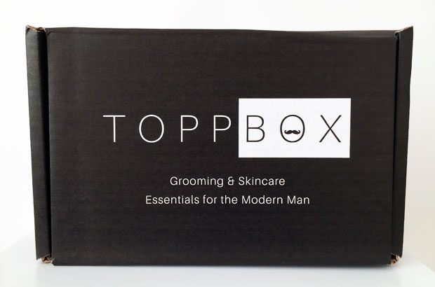 March 2019 TOPPBOX Men's Grooming & Skincare Subscription A Mum Reviews