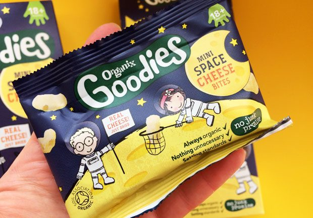 Organix Goodies Mini Space Cheese Bites Review A Mum Reviews