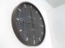 Thomas Kent Clocks Barley Dark Wall Clock Review A Mum Reviews