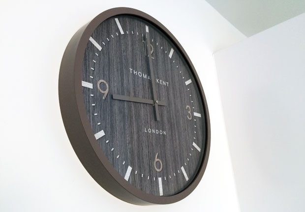 Thomas Kent Clocks Barley Dark Wall Clock Review A Mum Reviews