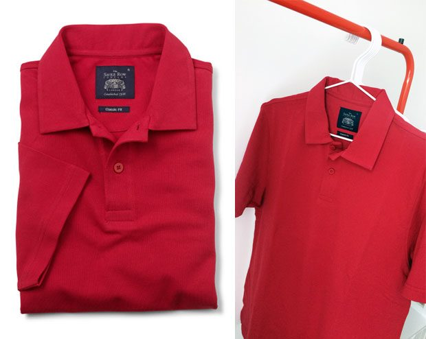 Savile Row Company Red Polo Shirt A Mum Reviews