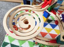 Wicked Uncle Toys Review – Quadrilla Wooden Marble Run Review A Mum Reviews