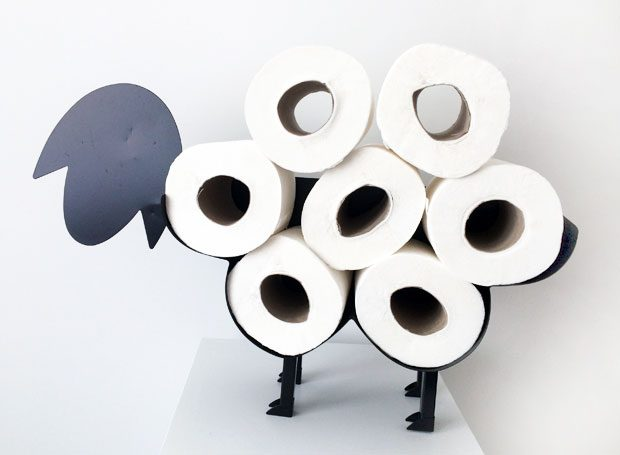 Baabara Toilet Paper Holder Sheep from Red Candy Review A Mum Reviews