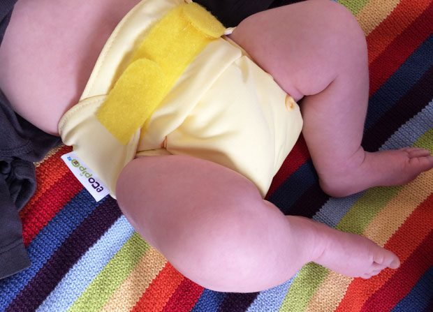 #ClothNappyMonday – Ecopipo Newborn Pocket Nappies Review A Mum Reviews