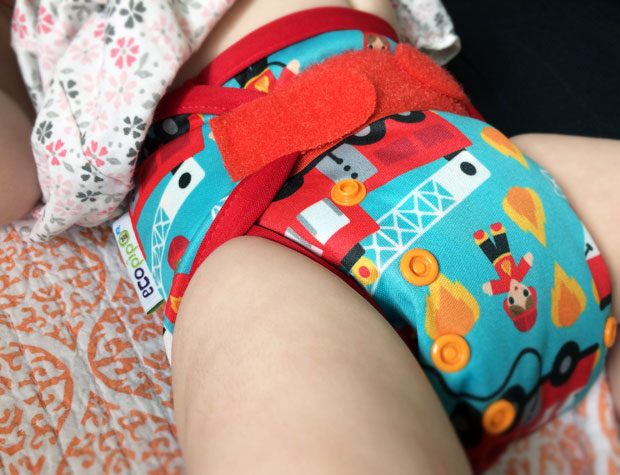 #ClothNappyMonday – Ecopipo Newborn Prefolds & Wrap Review A Mum Reviews