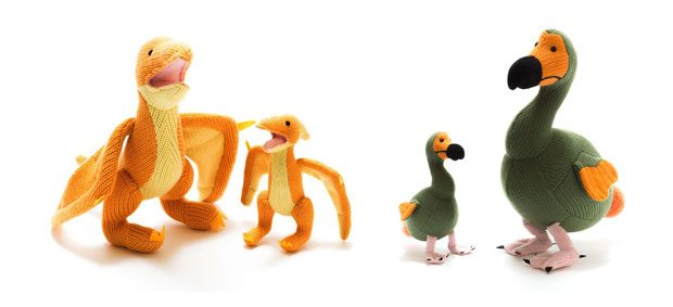 Dodo & Pterodactyl Dinosaur Baby Rattles from BestYears.co.uk A Mum Reviews