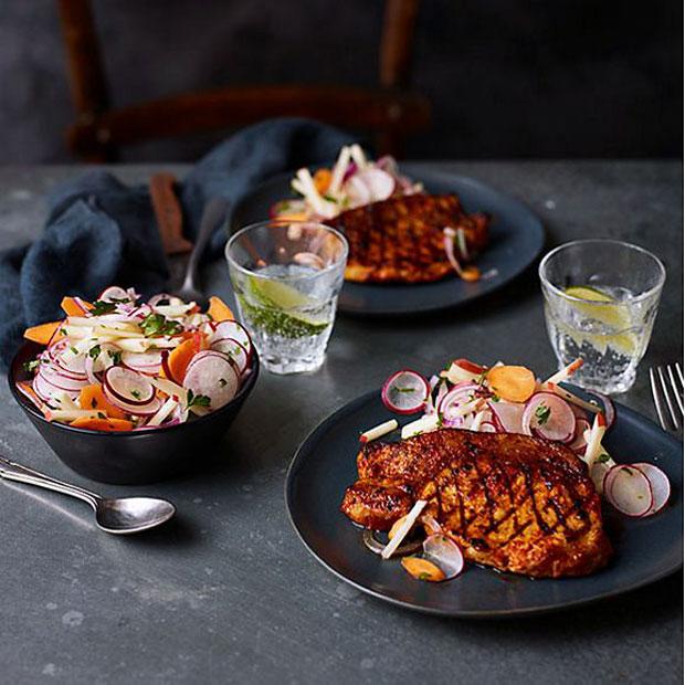M&S Food Chris Baber's Fresh Market Recipes A Mum Reviews