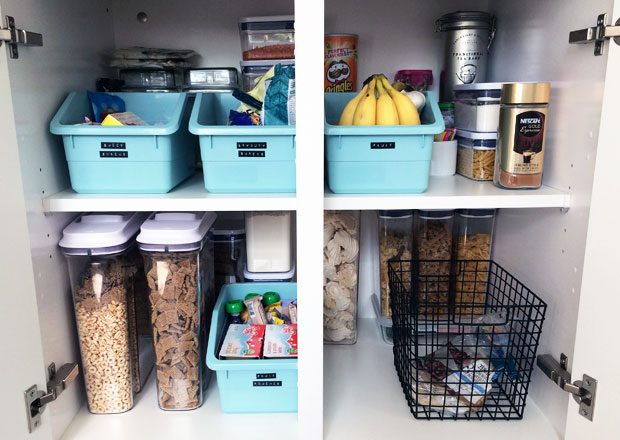 My Food Cupboard Organisation Makeover with OXO Good Grips A Mum Reviews