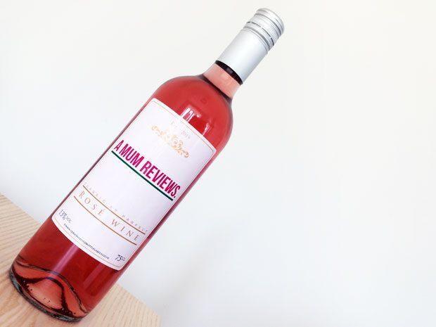 Personalisedbotllelabels.co.uk | Personalised Rosé Wine Review A Mum Reviews